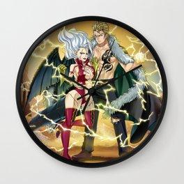 Laxus and Mira Wall Clock