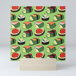 Sushi Avocado Mini Art Print