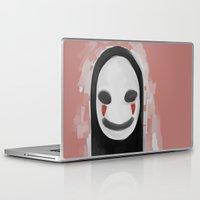 ghibli Laptop & iPad Skins featuring Studio Ghibli-Spirited Away by Devilphernelia
