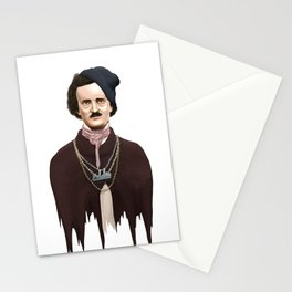 Eddie Poe Stationery Cards