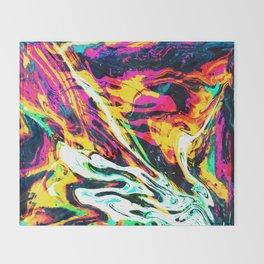 Fluid Abstract 34; Panic Throw Blanket