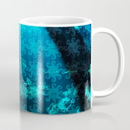 Cave Water With Logo Pattern Coffee Mug