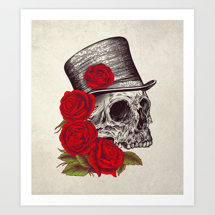 Dead Gentleman Art Print