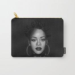 David's Portrait #1 Rihanna Carry-All Pouch