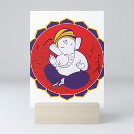 Divine Blessings Lord Ganesha Mini Art Print