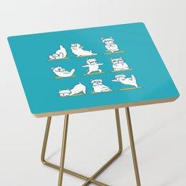 West Highland Terrier Yoga Side Table