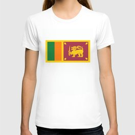 Sri Lanka country flag T-shirt