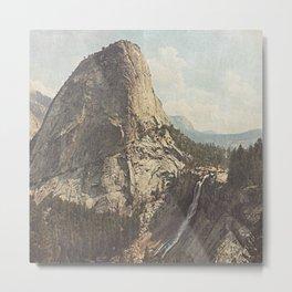 Nevada Falls Yosemite Metal Print