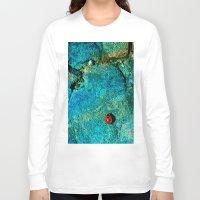 ladybug Long Sleeve T-shirts featuring LadyBug by Sandy Broenimann