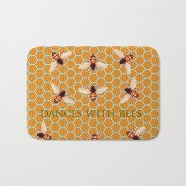 Dances With Bees Bath Mat