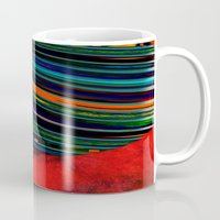 rave Mugs featuring Rave by Neelie