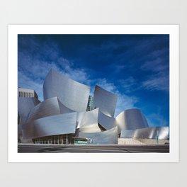 Concert Hall    Frank Gehry   architect Art Print