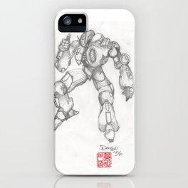 Mechanoid iPhone Case