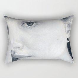 La lectora de almas Rectangular Pillow