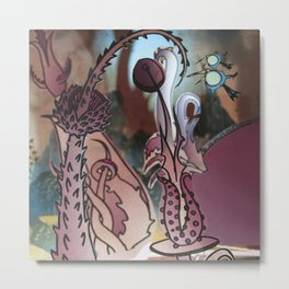EARTHLY DELIGHTS Metal Print