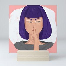 Sshhh.. Mini Art Print