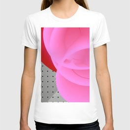 It's Red Rose. Abstract Art. T-shirt