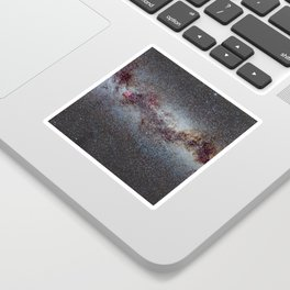 The Milky Way: from Scorpio and Antares to Perseus Sticker