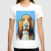 the hound T-shirts featuring Hound Dog by Animal Art By Sarah