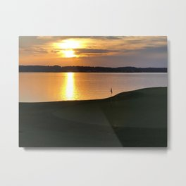 From the Green Metal Print