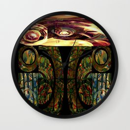 Mayan series 7 Wall Clock