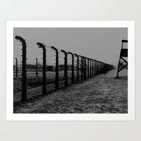 Auschwitz 05 Art Print
