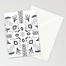 Organic Geometry Stationery Cards
