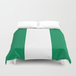 Flag of Nigeria - Authentic High Quality image Duvet Cover