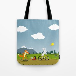 Happy riders Tote Bag