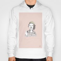 danny haas Hoodies featuring Danny Brown by Hailey Whitt
