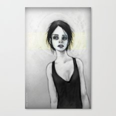 Beginning (the Girl o1) Canvas Print