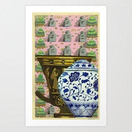 untitled (urns 1) Art Print