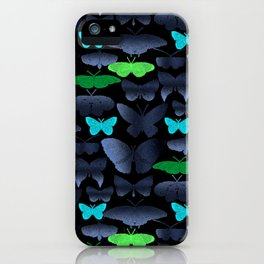 butterflies thread iPhone Case
