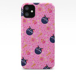 Chibi Moon Pattern / Sailor Moon iPhone Case
