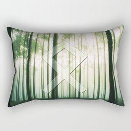 Othala (rune, means Home.) Rectangular Pillow