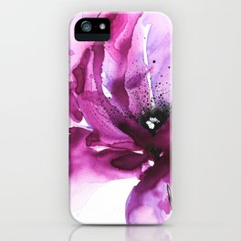 Abstract flower I iPhone Case
