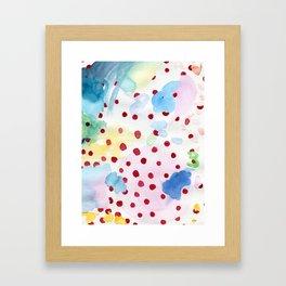 The origin of Spring 2 Framed Art Print