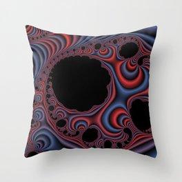 fractal Fantasy Throw Pillow
