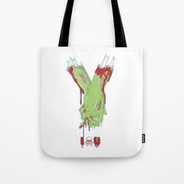 Zombie Couples - Halloween Valentine's Day Love Tote Bag