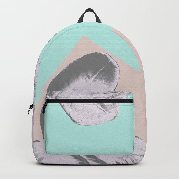 Ficus Elastica Mix #1 #pastel #decor #art #society6 Backpack