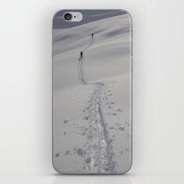 Alaska Denali Backcountry Climbing iPhone Skin