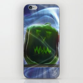 Jack O Lantern Bell Peppers iPhone Skin