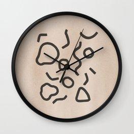 Simple Confetti Wall Clock