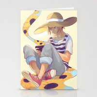 viria Stationery Cards featuring kenma by viria
