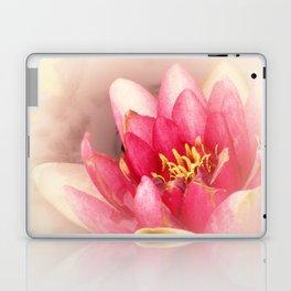 Pink Waterlily Pastel Laptop & iPad Skin
