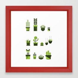 Plantlover Framed Art Print