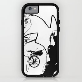 penguin posse iPhone Case