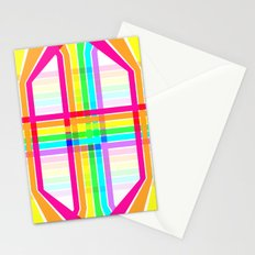 Weaved Rainbow Stationery Cards