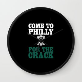 Come To Philly Wall Clock