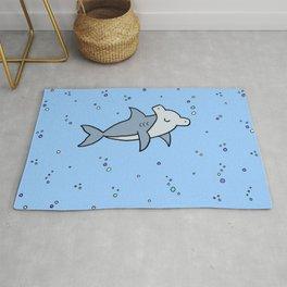 Little Hammerhead shark Rug